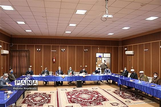 نشست معاون پرورشی و فرهنگی آموزش و پرورش استان خراسان رضوی