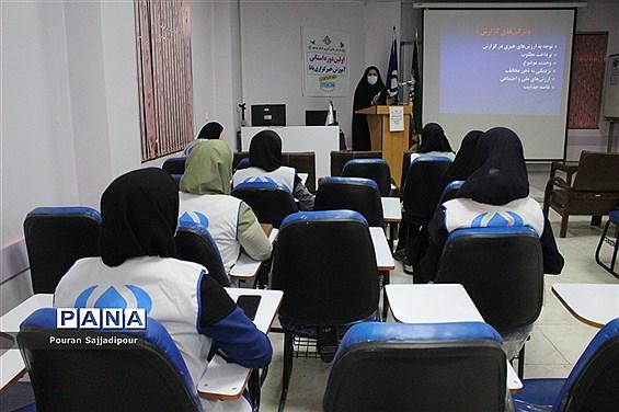 جلسه پایان دوره آموزشی خبرنگار دختر پانا استان بوشهر