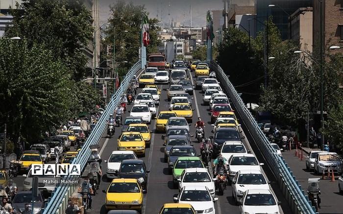 ترافیک تهران بعد از لغو طرح ترافیک
