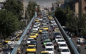 ترافیک سنگین صبحگاهی در تمامی بزرگراههای شهر تهران