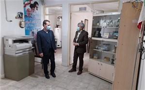 بازدید مدیرکل آموزش وپرورش کردستان از سازمان دانش آموزی استان