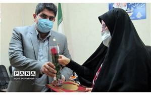 تجلیل از بانوان ستادی سازمان دانش آموزی استان خوزستان