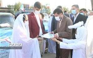 اهدا 100 جهیزیه کامل به زوجهای تحت پوشش کمیته امداد استان خوزستان