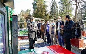 تجدید میثاق کارکنان سازمان پژوهش با آرمانهای امام خمینی(ره) و شهدای دفاع مقدس