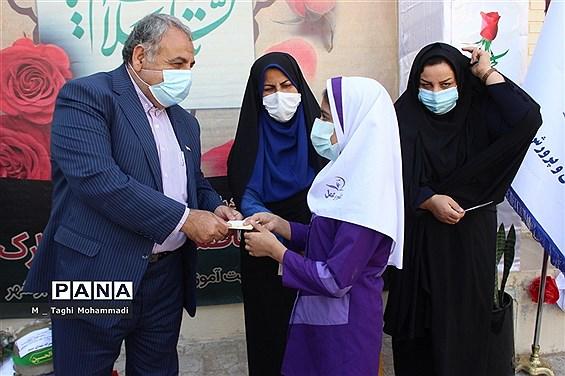 آیین گرامیداشت ولادت حضرت زهرا(س) و مقام زن در آموزش و پرورش شهرستان بوشهر