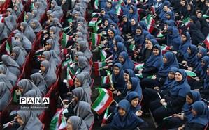 درخشش دانش آموزان برگزیده شهر تهران در جشنواره دختران امروز