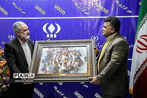 بازدید قائم مقام شورای هماهنگی تبلیغات اسلامی از خبرگزاری پانا
