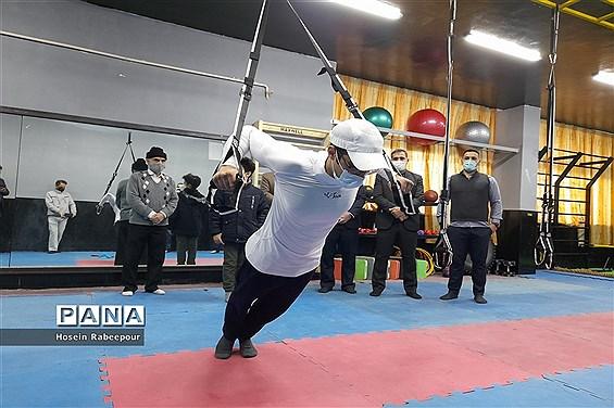 افتتاح سالن چند منظورهTRX در منطقه 16 شهر تهران