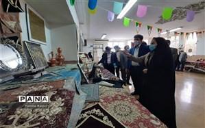 افتتاحیه نمایشگاه دستاورد های آموزشی و مهارت های سواد آموزی