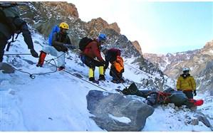 نجات 2  گردشگر در کوهستان های رضوانشهر