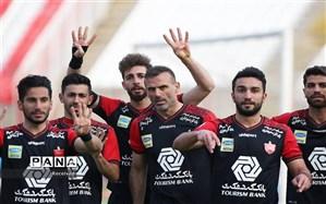 لیگ برتر ایران؛ کاپیتان پرسپولیس را صدرنشین نگه داشت