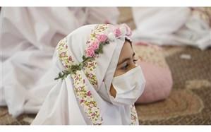 جشن تکلیف « دختران انقلاب » در بقعه خواهر امام رشت به صورت نمادین برگزار شد