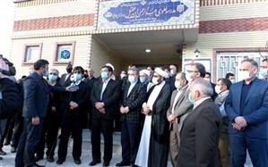 افتتاح مدرسه 3 کلاسه علوی عبدالرحمن بن عقیل روستای هدیلو شهرستان انگوت