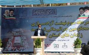 31 مددجوی جرایم مالی و غیرعمد از زندان های استان کرمان آزاد شدند