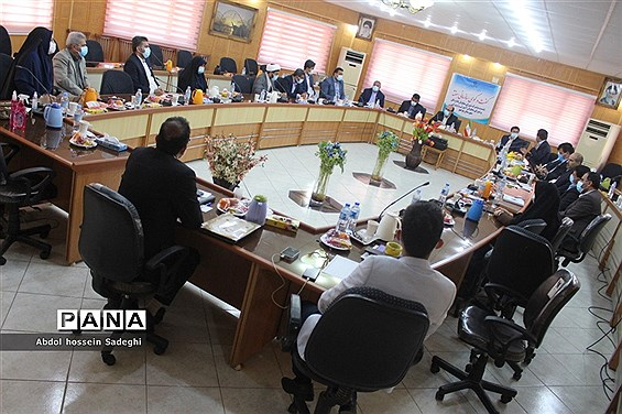 نشست مشترک شورای معاونان اداره کل آموزش و پرورش استان بوشهر و شهرستان بوشهر