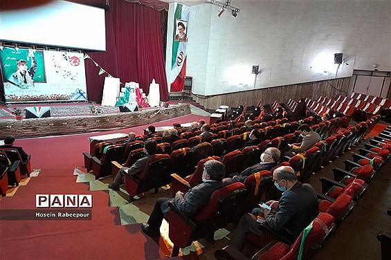 افتتاح مدارس ماندگار ایثار منطقه 16 تهران