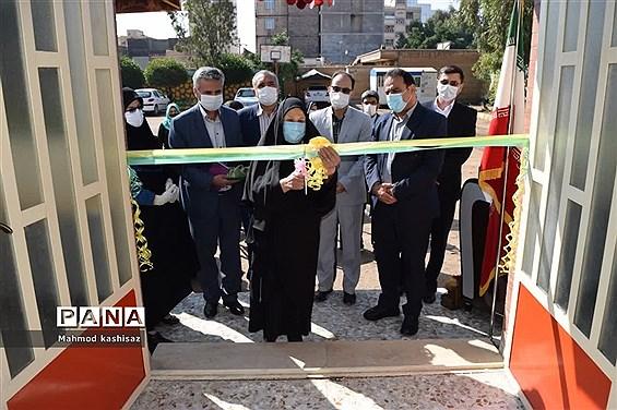 افتتاح سالن  نمازخانه و سالن مطالعه دبیرستان شاهد بنت الهدی صدر