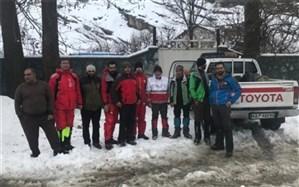 عملیات نجاتبخش در قلههای برفی