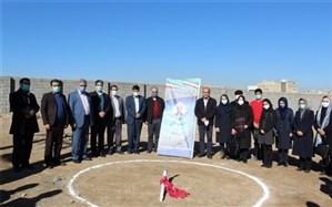 برگزاری مراسم کلنگ زنی و احداث دبیرستان خیرساز مهندس رناسی