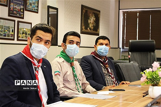 اعطای احکام اعضای مجامع دانشآموزان و مربیان تشکل پیشتازان در فارس