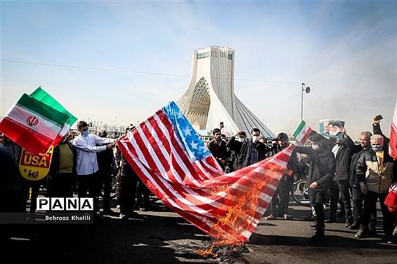 یوم الله ۲۲ بهمن در تهران - 1