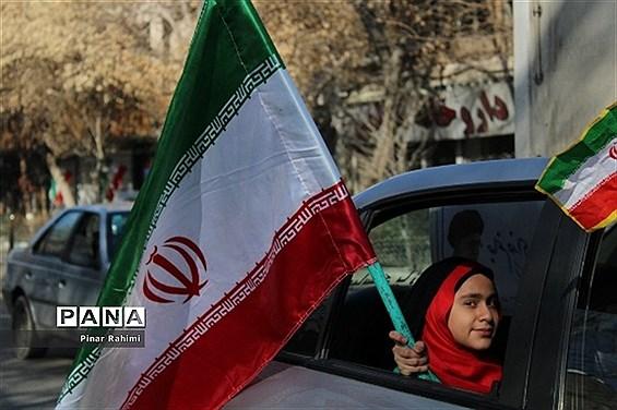 برگزاری رژه موتوری و خودرویی  در تبریز