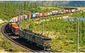 رشد 64 درصدی صادرات کالا از پایانه ریلی آستارا