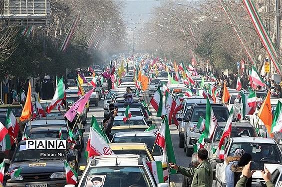راهپیمایی ۲۲ بهمن در گلستان