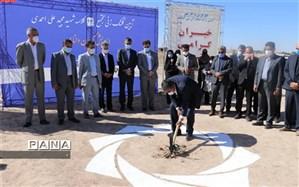 مدرسه 24 کلاسه شهید مجید علی احمدی در کرمان به زمین زده شد