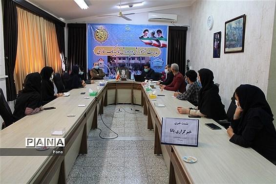 نشست دانشآموزان خبرنگار شهرستان ساری با سرپرست آموزش و پرورش