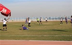 برگزاری مسابقه فوتبال لیگ دسته اول کشور در  اسلامشهر