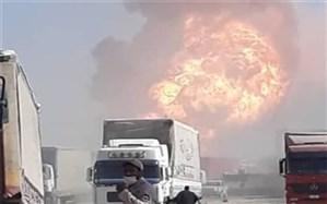 پیگیری خسارت کامیونداران در گمرک اسلامقلعه