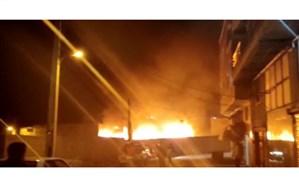 ۳۰ میلیارد تومان خسارت اولیه حادثه آتش سوزی بازارچه مهاباد اعلام شد