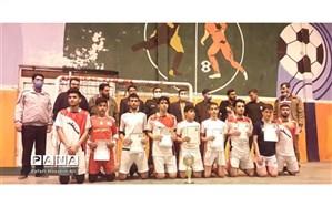 برگزاری اختتامیه مسابقه فوتسال بسیج جام فجر در شیروان
