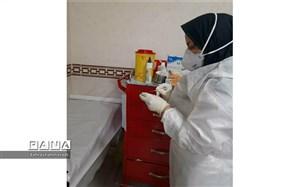 آغــاز نخستین مرحله واکسیناسیون  روسی در بیمارستان شهــدای لنجان