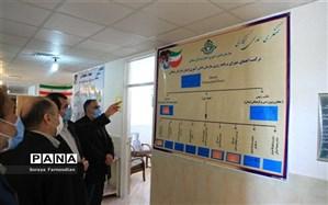 بازدید مدیرکل آموزش وپرورش خراسان شمالی از سازمان دانش آموزی استان