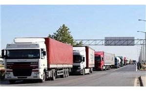 کاهش ۴۹ درصدی تردد ناوگان باری از پایانه مرزی بازرگان