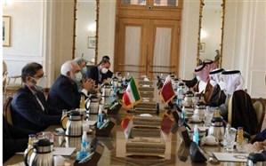 تاکید ایران بر گسترش همکاری با قطر در حوزههای مختلف