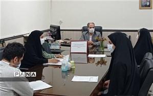 جلسه ستاد دبیرخانه جشنواره مداد آبی در اداره کل شهرستانهای استان تهران تشکیل شد