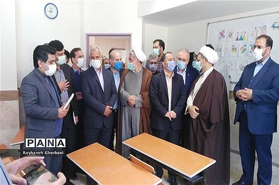 افتتاح مدرسه شهدای بانک رفاه کارگران در رباطکریم
