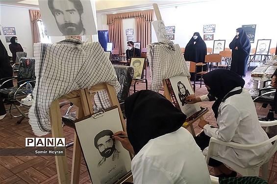 برگزاری یادواره شهدا درهنرستان هنرهای زیبای شهرستان بیرجند