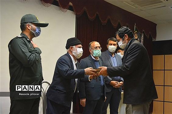 اختتامیه نمایشگاه مدافعان انقلاب اسلامی در بیرجند استان خراسان جنوبی