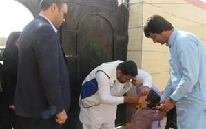 ۲۸ هزار کودک خارجی علیه فلج اطفال در سیستان و بلوچستان واکسینه شدند