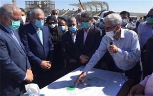 دبیر شورای عالی مناطق آزاد کشور از دهکده ورزشی  «پیل بند»  چابهار بازدید کرد