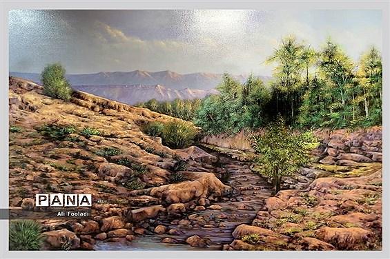 نمایشگاه نقاشی آلاپریما
