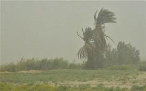 سرعت وزش باد در خاش به 54 کیلومتر بر ساعت رسید