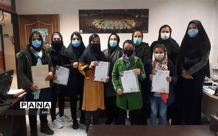 تجلیل از نفرات برتر و داوران مسابقات کاراته مجازی استان لرستان برگزار شد