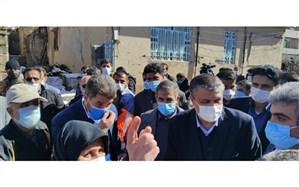 وزیر راه و شهرسازی به عنوان معین استان وارد سی سخت شد