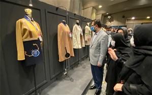بازدید معاون هنری از دهمین جشنواره مد و لباس فجر
