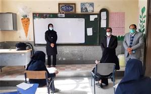 آزمون پیشرفت تحصیلی پایه نهم در زابل برگزار شد